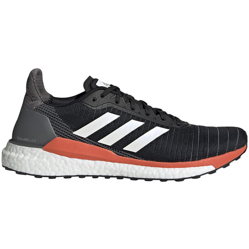 Men's Solar Glide 19 Running Shoe - Core Black / Solar Orange