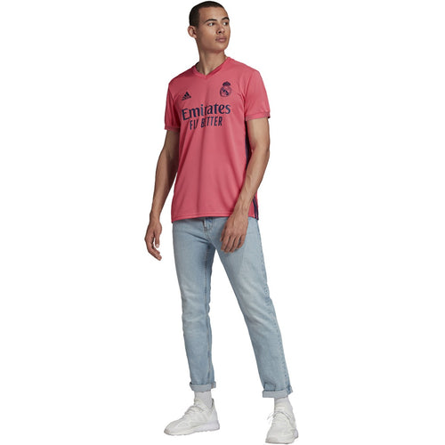 Real Madrid 2020/21 Away Jersey - Spring Pink