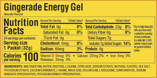 Gu Energy Gel - Gingerade