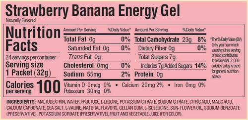 Gu Energy Gel - Strawberry Banana