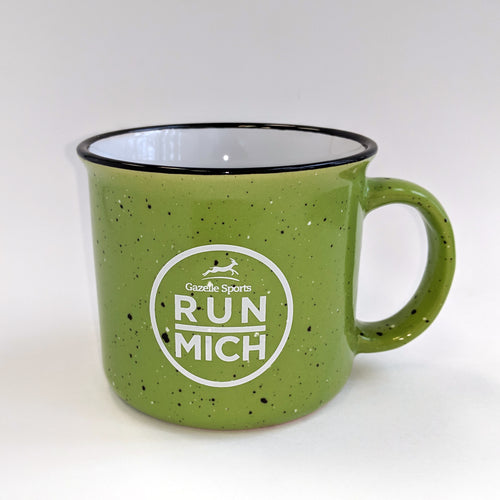 Run Mich Campfire 15oz Ceramic Mug