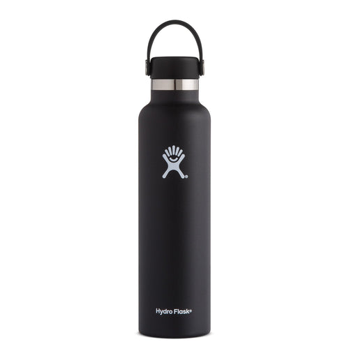 24 oz Standard Mouth Insulated Waterbottle - Black
