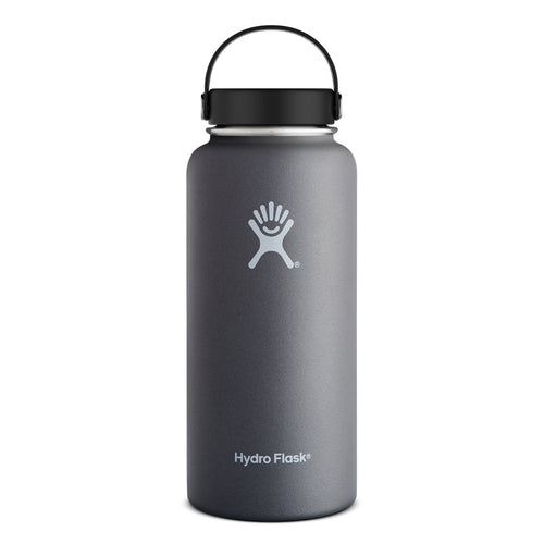 32 oz Wide Mouth Insulated Waterbottle - Graphite