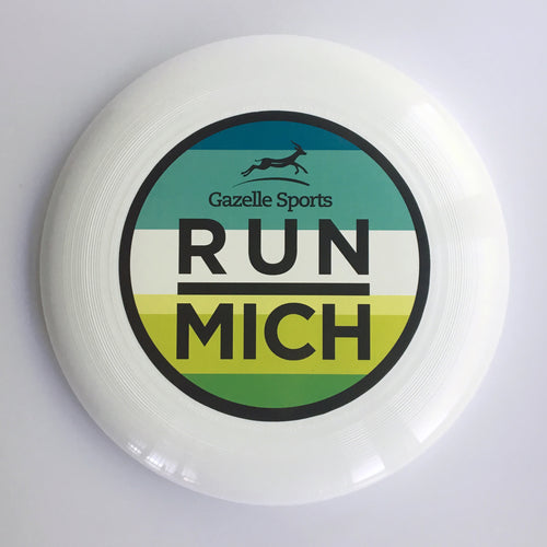 Run Mich Ultra Star Frisbee - Blue/Green