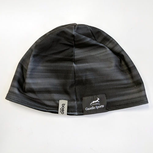 Run Mich Performance Sublimated Beanie - Black