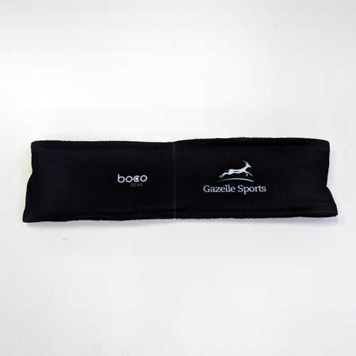 Run Mich Performance Sublimated Headband - Black