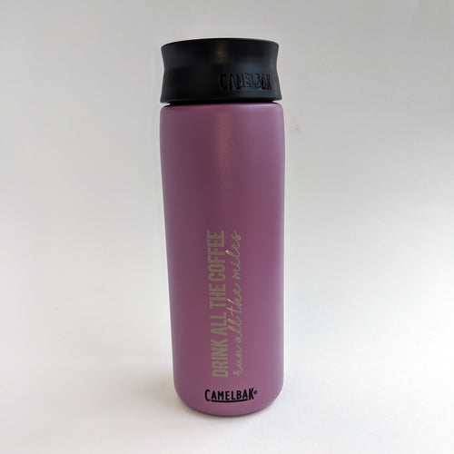 Coffee Miles Hot Cap 20oz - Lilac