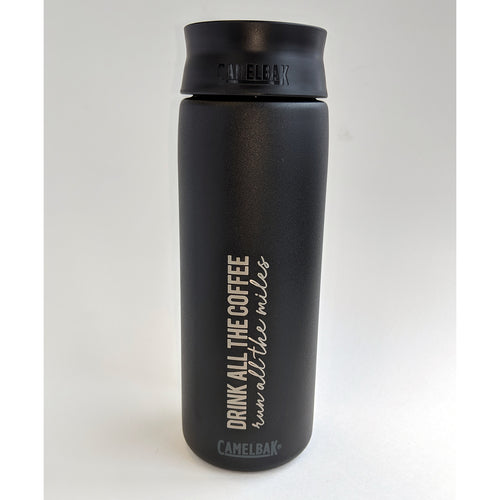 Coffee Miles Hot Cap 20oz - Black