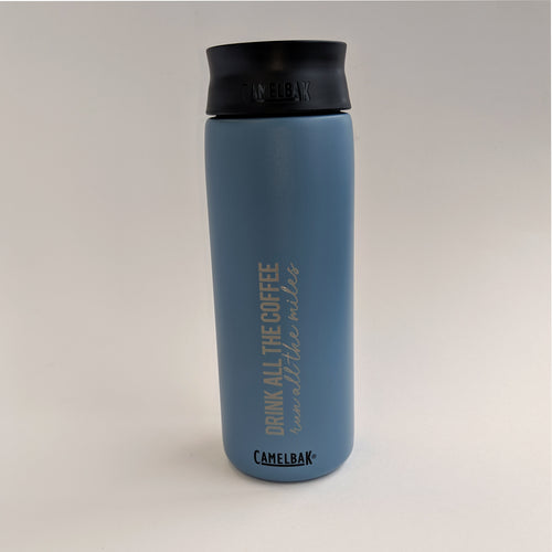 Coffee Miles Hot Cap 20oz - Blue Grey