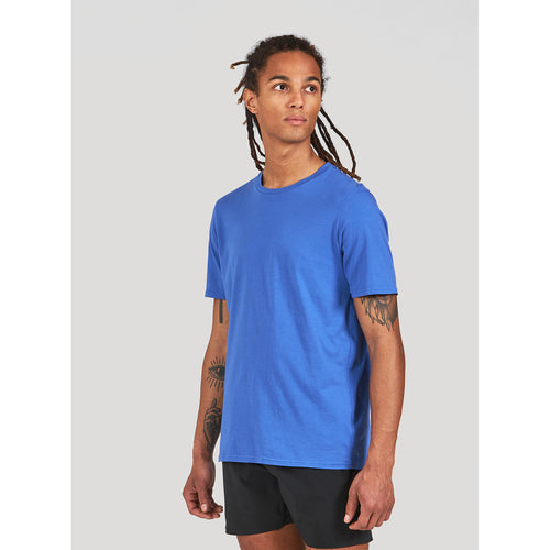 Men's Runterra Short Sleeve Shirt - Royal