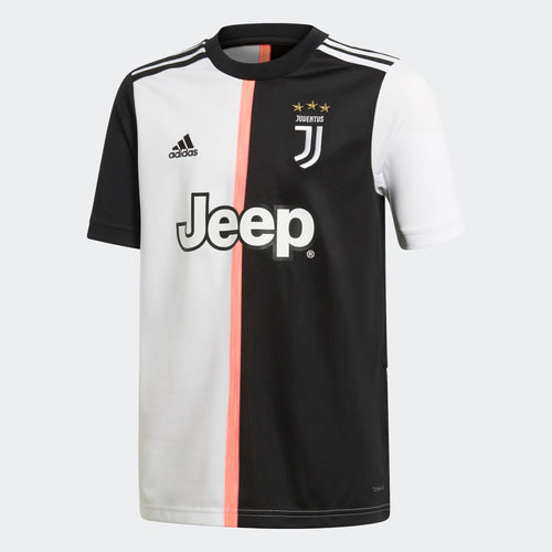 Youth Juventus 2019/20 Home Jersey - Black/White