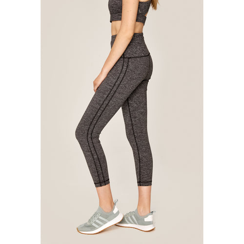 Women's Lilou Ankle Legging - Dark Grey Heather