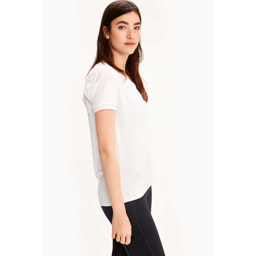 Women's Repose Short Sleeve Top - White