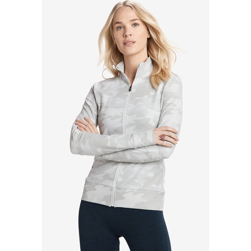 Women's Essential Up Cardigan - Pearl Camo