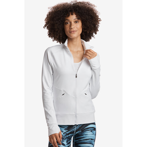 Women's Essential Up Cardigan - White