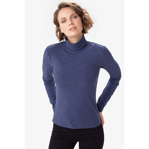 Women's Villeray Turtleneck - Moonlit Heather