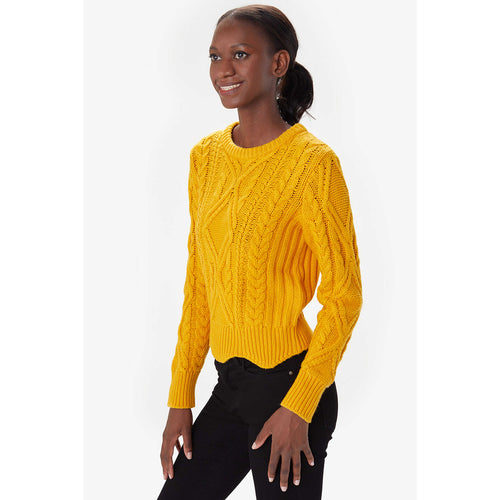 Women's Zahara Crewneck Top - Mango