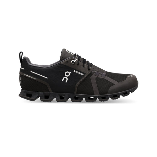 Men's Cloud Waterproof Running Shoe - Black/Lunar