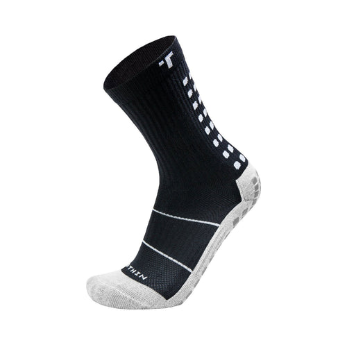 2.0 Mid-Calf Length Thin Sock - Black