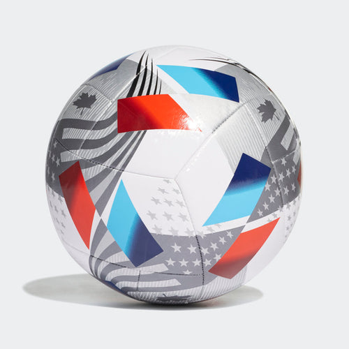 MLS Training Ball - White/Iron Metallic/Silver Metallic/Pantone