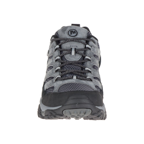 Men's Merrell Moab 2 Waterproof (Wide - 2E) Hiking Shoe - Granite