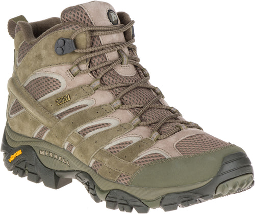 Men's Merrell Moab 2 Mid Waterproof - Dusty Olive