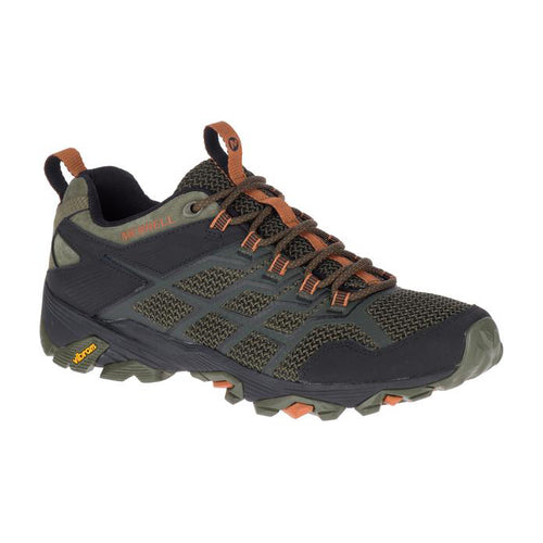 Men's Merrell Moab FST 2 Running Shoe - Olive / Adobe