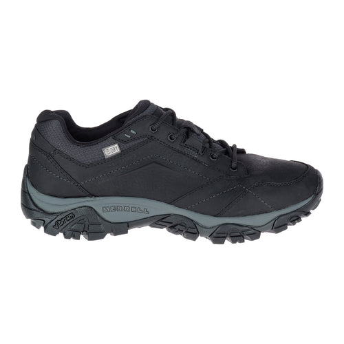 Men's Moab Adventure Lace (D - Regular) Waterproof Shoe - Black