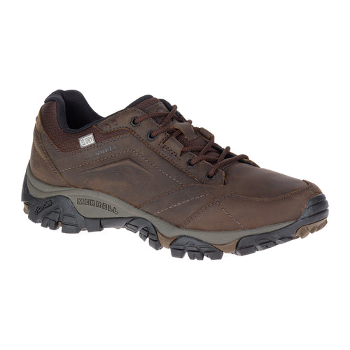 Men's Moab Adventure Lace Waterproof Shoe - Dark Earth