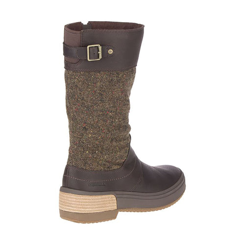 Women's Haven Tall Buckle Waterproof Boot - Bracken