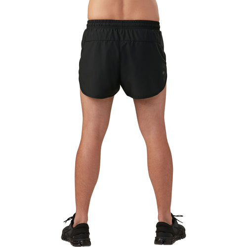 Men's Split Short - Performance Black