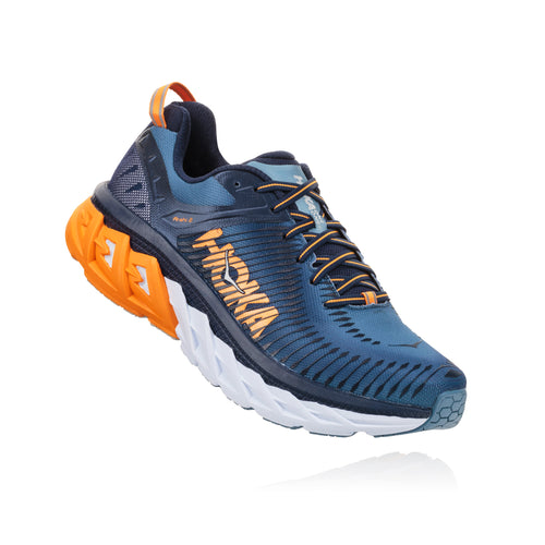 Men's Arahi 2 Running Shoe - Black Iris / Blue Stone