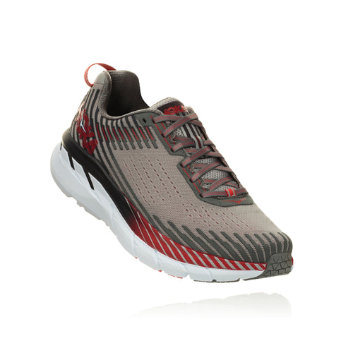 Men's Clifton 5 Running Shoe - Alloy/Steel Gray