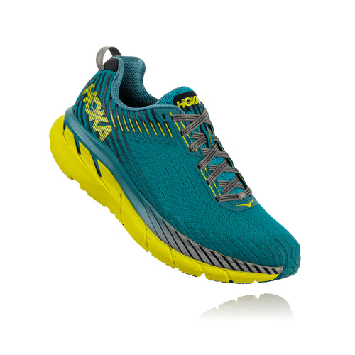 Men's Clifton 5 Running Shoe - Caribbean Sea / Storm Blue