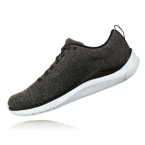 Men's Hupana Wool Running Shoe - Neutral Gray / White
