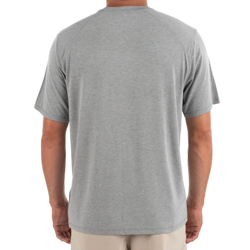 Men's Bamboo Midweight Motion Tee - Heather Grey