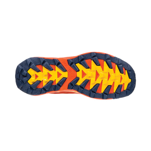 Men's Torrent Trail Running Shoe - Tangerine Tango / Old Gold