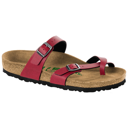 Women's Mayari Cork Pull Up Bordeaux Birko-Flor Sandal