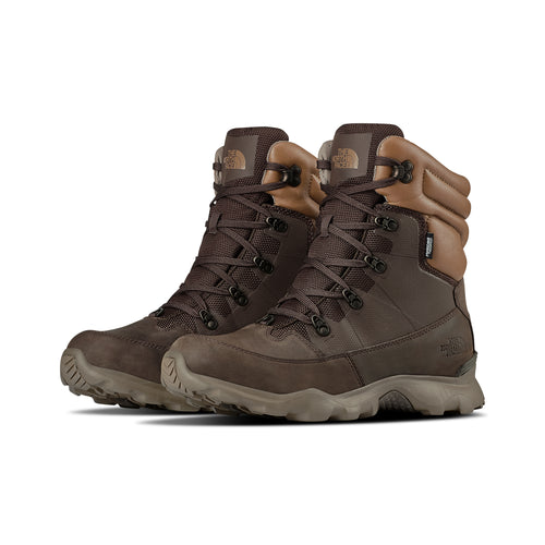 Men's ThermoBall Lifty Winter Boots - Chocolate Brown / Cargo Khaki