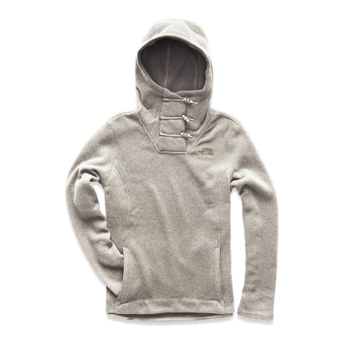 Women's Crescent Hooded Pullover - Wild Oat Heather
