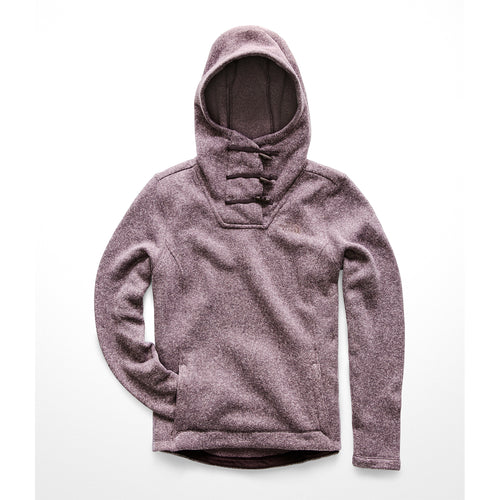 Women's Crescent Hooded Pullover - Galaxy Purple Multi Crescent Heather