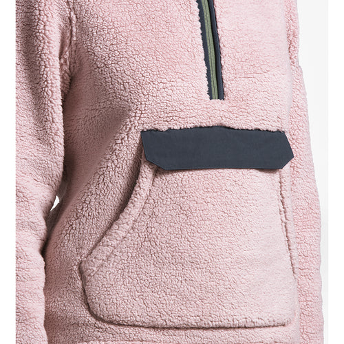 Women's Campshire Pullover Hoodie - Burnished Lilac/Urban Navy