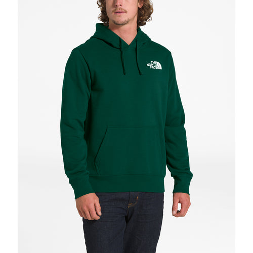 Men's Red Box Pullover Hoodie - Night Green/TNF Black