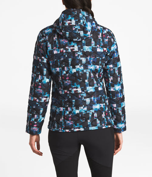 Women's ThermoBall Hoodie - Multi Glitch Print