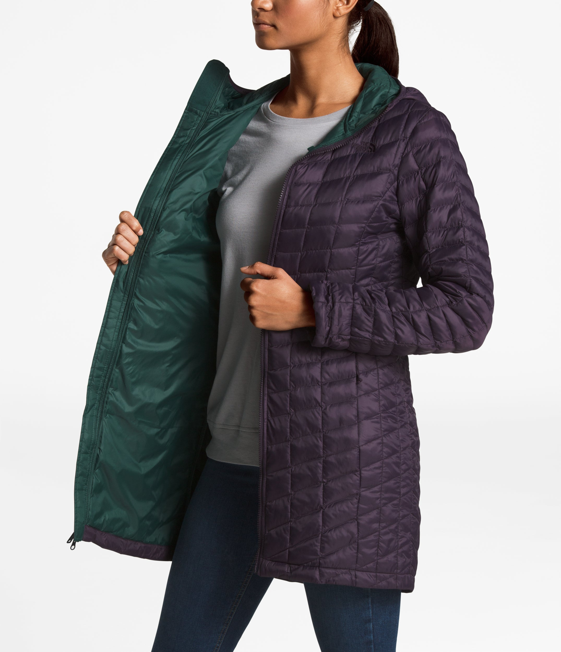 online store 9a508 0f048 ... Women s ThermoBall Parka II - Purple ...
