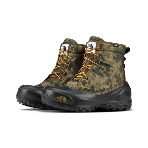Men's Tsumoru Boot - Tarmac Green Macrofleck Print/Tarmac Green