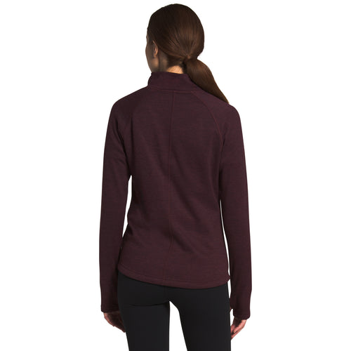 Women's Canyonlands 1/4 Zip - Root Brown Heather