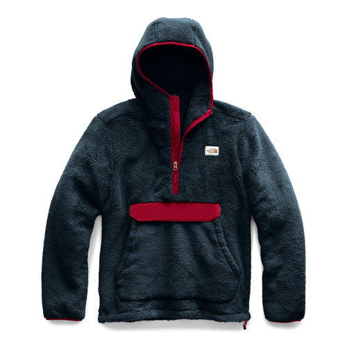 Men's Campshire Pull Over Hoodie - Urban Navy/Cardinal Red