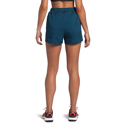 Women's Active Trail Run Short - Blue Wing Teal