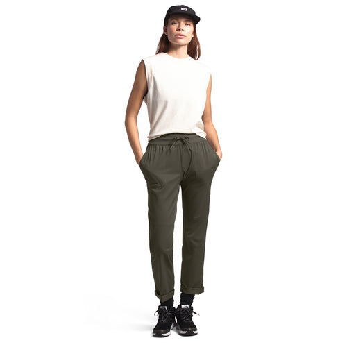 Women's Aphrodite Motion Pant - New Taupe Green